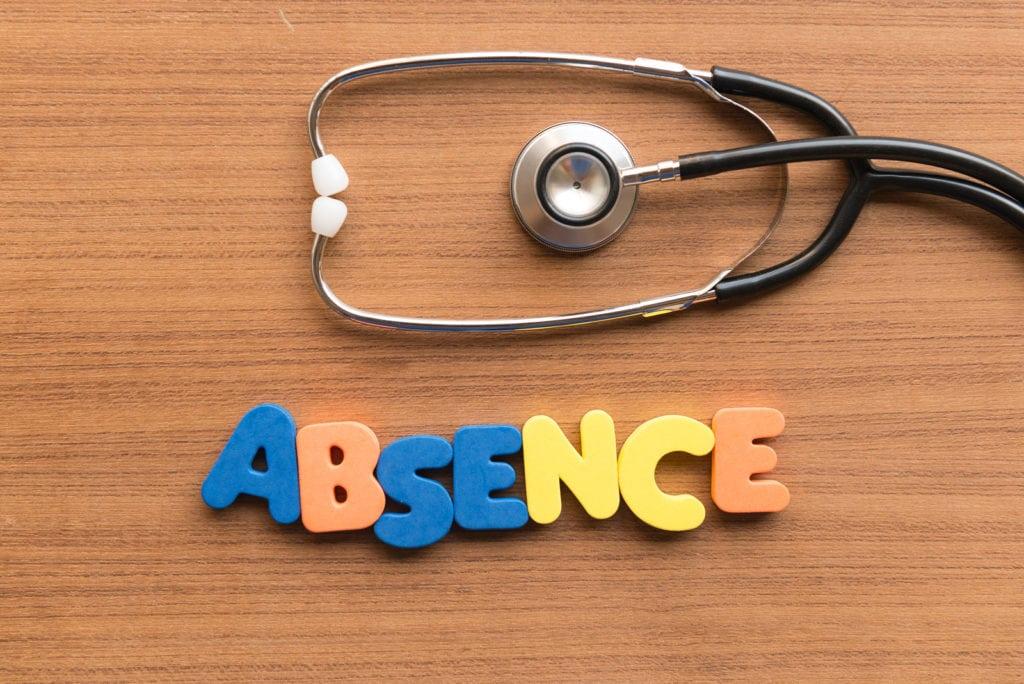 Billet d'absence