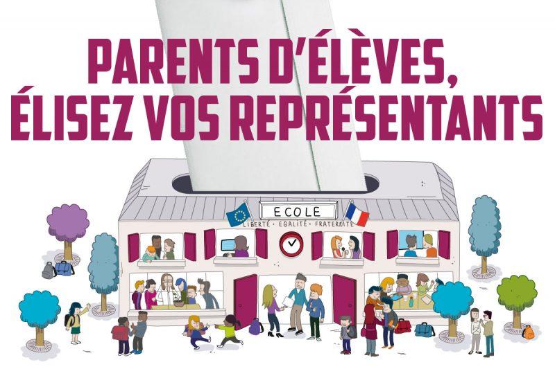 Parents d'élèves, élisez vos représentants